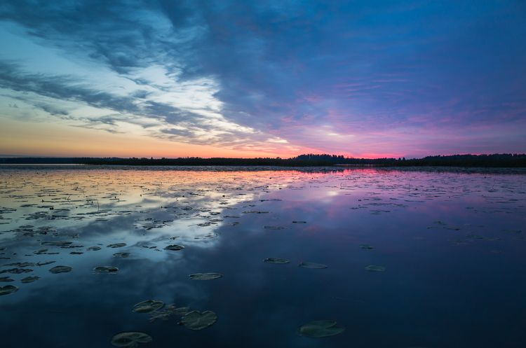 Video Tutorial on my blog! Sunset - After Graduated Filters and Radial Filter