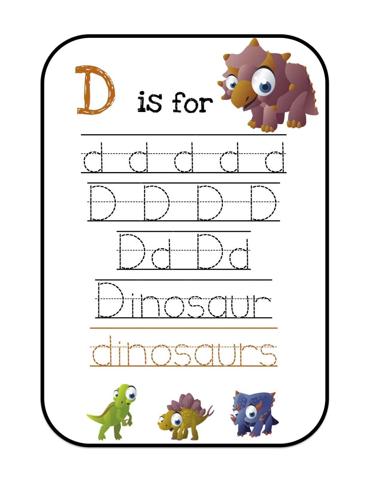 He Is Having Trouble With The Letter D But Loves Dinosaurs
