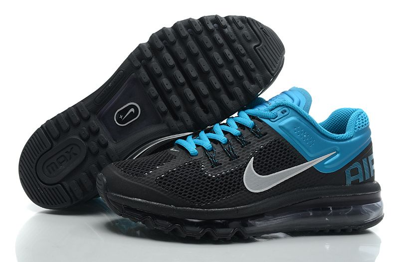 info for 39dd8 2d154 Womens Nike Air Max 2013 Black Reflective Silver Tropical Teal Shoes