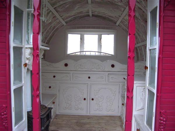 light color sound gypsy caravan gypsy wagon for my dolls