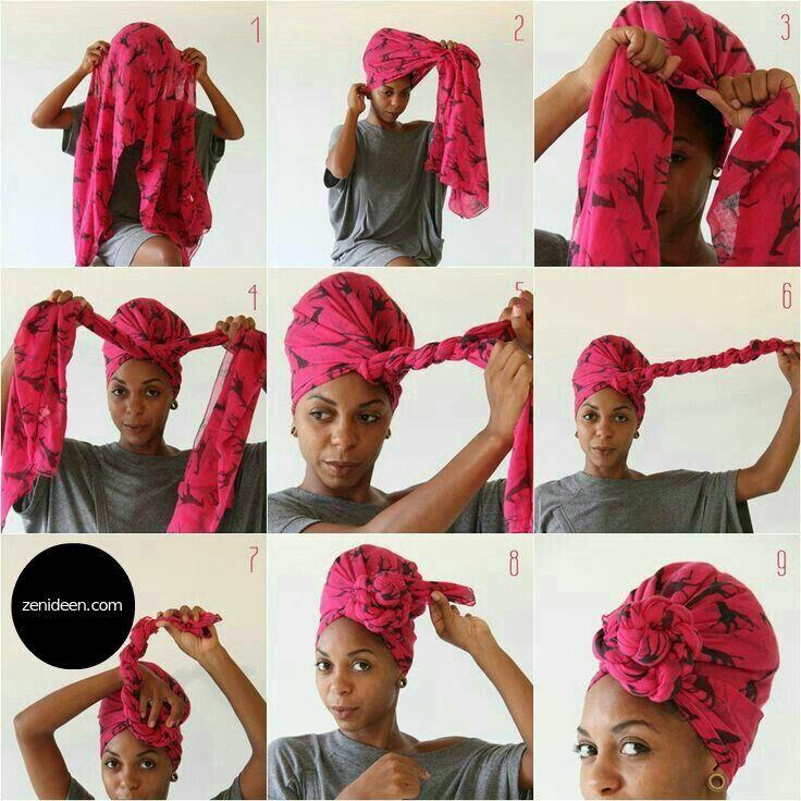 Ein stilvoller Look für Silvester? Sollten Sie einen Turban binden! - Accessoires, Mode - ZENIDEEN