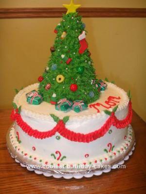 Cool Homemade Christmas Tree Topper Cake Homemade christmas tree