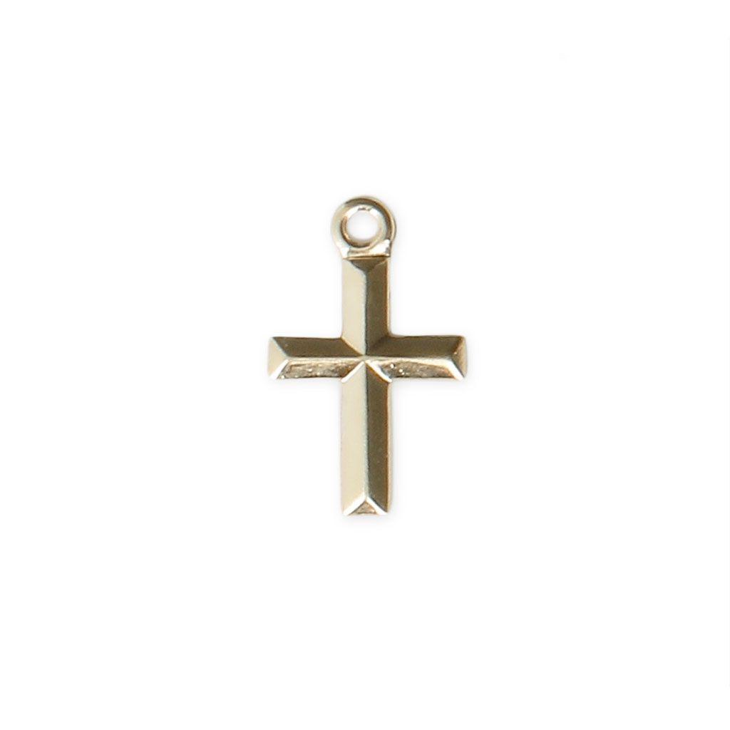 #Breloque #fine #estampée #Croix 11x7 mm en #Gold #filled 14 #carats x1 - #Perles & Co Servez-vous de cet #apprêt pour réaliser des #bijoux #fantaisie #faits-main. Voici quelques #idées #créatives #faciles à faire #soi-même : 1. Une jolie #chaîne pour bijoux #dorée, et hop le tour est joué.  2. Faites un #bracelet avec un #noeud #coulissant #simple.