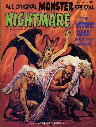 Cover for Nightmare (1970 series) #16