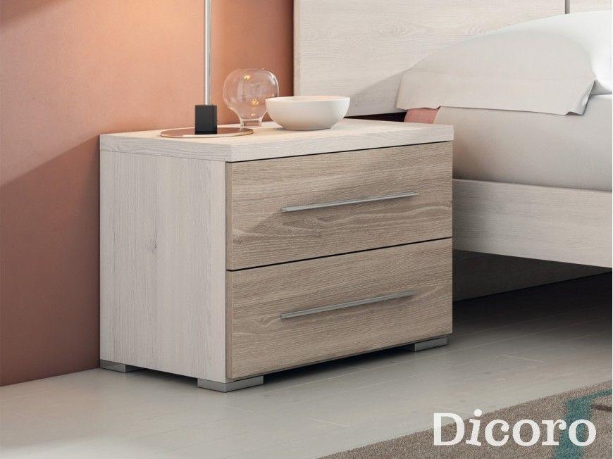 Image result for medidas de una mesa de noche interior - Mesitas de noche diseno modernas ...
