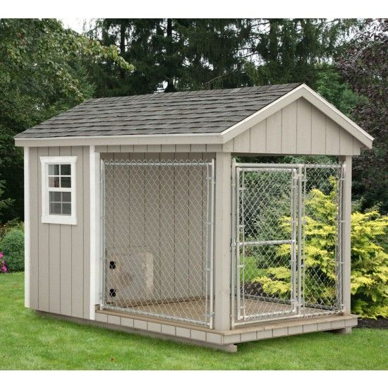 Amish Clay Heated Dog Kennel 6x10 Insulated Dog Kennels Diy Dog Kennel Dog Kennel Outdoor
