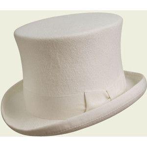 Izusu Tanchiki White Top Hat Top Hat Hats For Men Hats