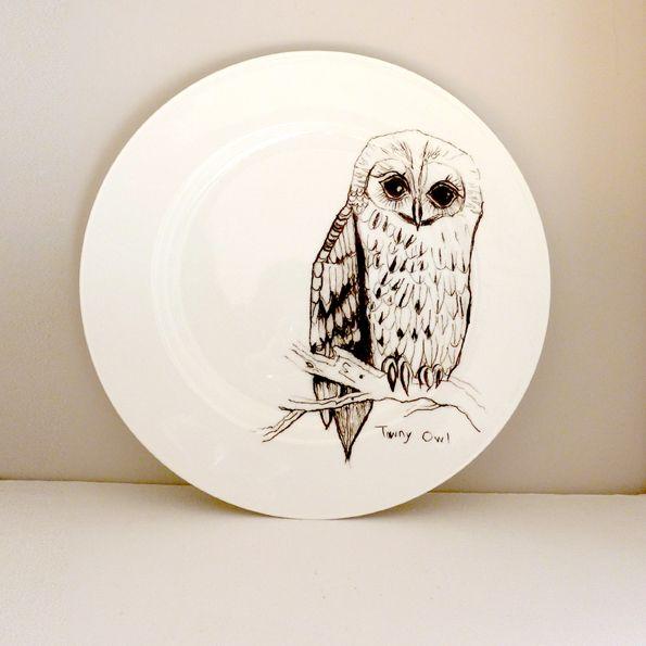 rabbit bunny deer birds owls plates dinnerware - Google Search & rabbit bunny deer birds owls plates dinnerware - Google Search ...