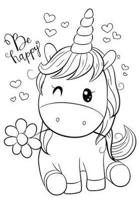 Dibujos De Unicornios Para Colorear Unicornios Para Pintar