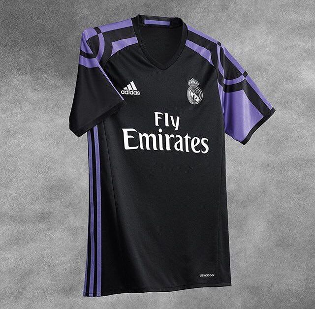 classic fit a6875 ee21e Real Madrid 2016/2017 Third Kit | Latest Football Kits ...
