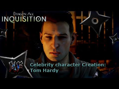 Dragon Age Inquisition Celebrity Character Creation Tom Hardy Ps4 Dragon Age Dragon Age Inquisition Tom Hardy