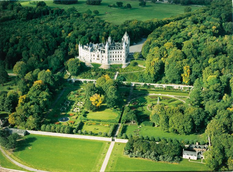 Dunrobin Castle Garden And Museum Historic Attractions Caithness Sutherland Ross