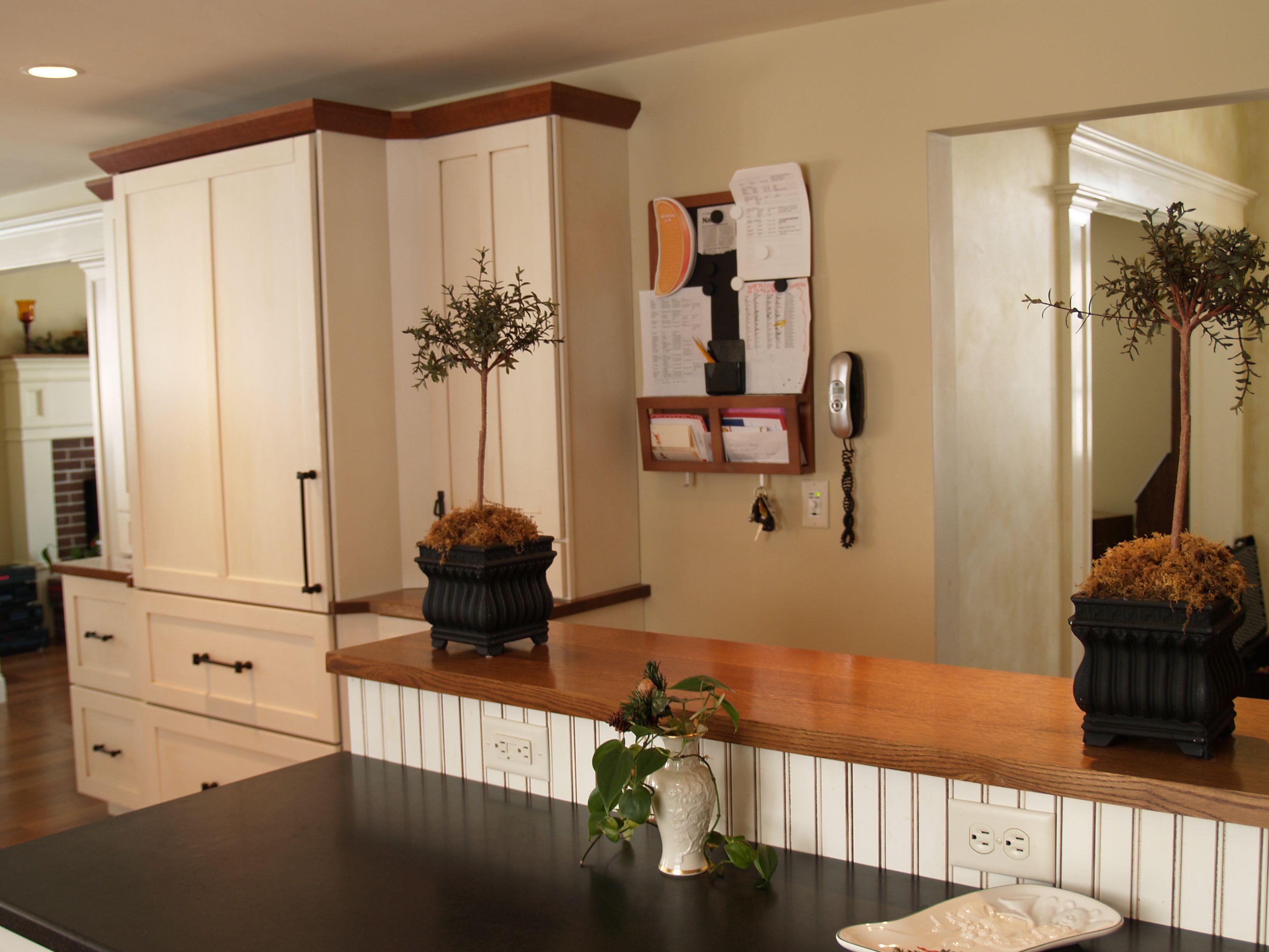 Devos Custom Woodworking Red Oak Wood Countertop Photo Gallery
