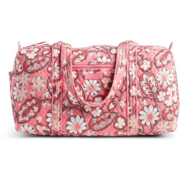 b1672f5e5996 Vera Bradley Small Duffel 2.0 Travel Bag in Blush Pink ( 68) ❤ liked on  Polyvore featuring bags