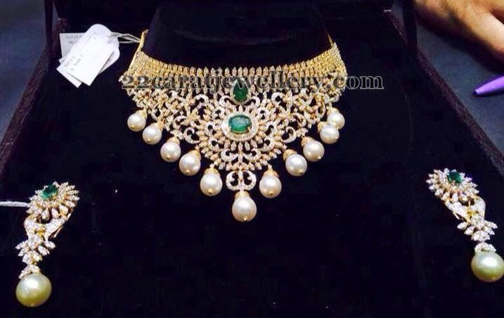 Diamond Necklace Worth 8 Lakhs Beautiful Diamond Necklace Simple Diamond Jewelry Diamond Jewlery