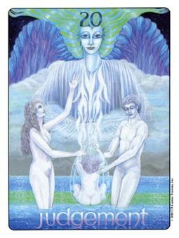 March 19 Tarot Card: Judgement! (Gill deck) A gathering of lost fragments allows you to connect to your Higher Self