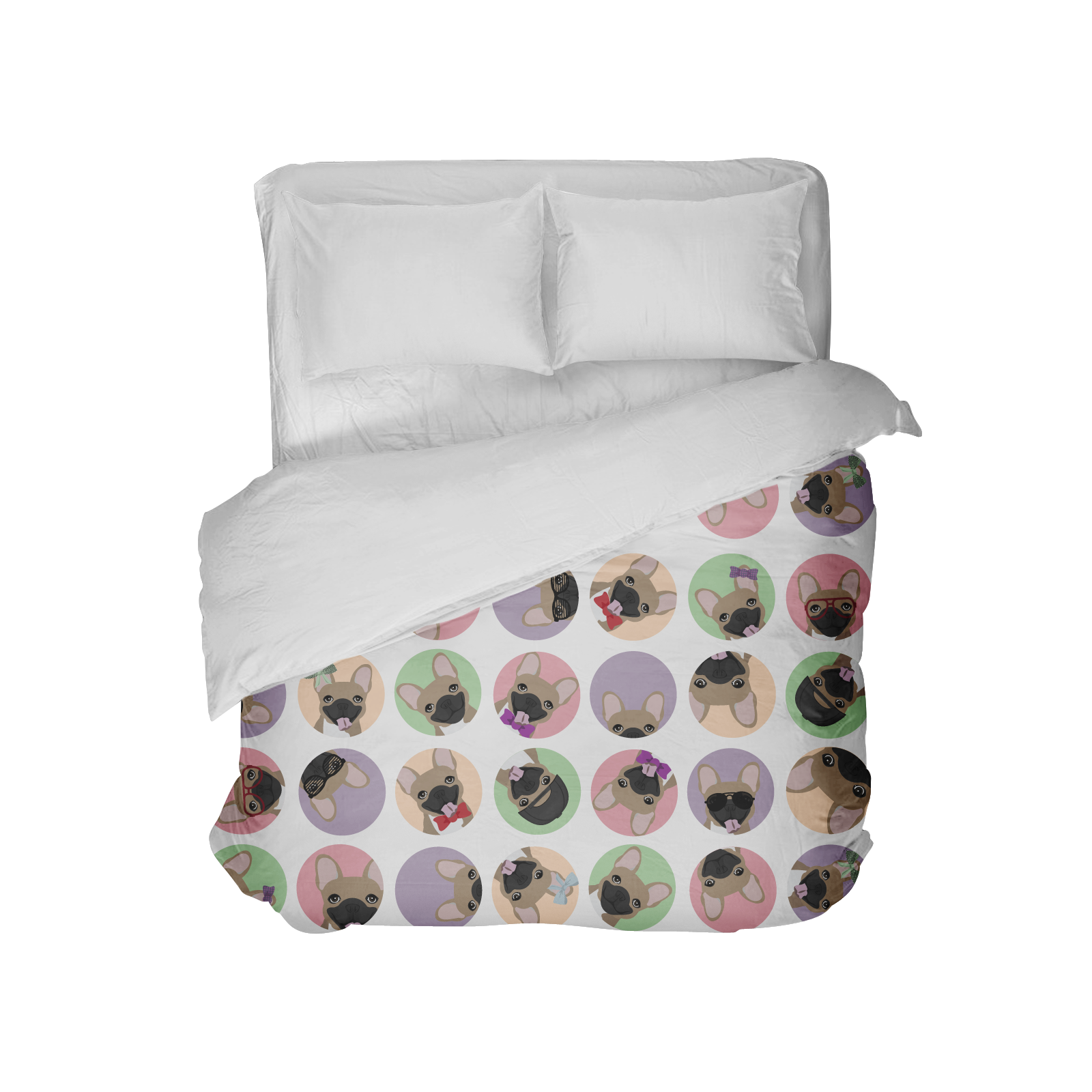 Now available Bedding W/ Fawn F.... All our products are handmade & handcrafted with the highest quality in mind. http://thefrenchiestore.com/products/bedding-w-fawn-frenchie?utm_campaign=social_autopilot&utm_source=pin&utm_medium=pin