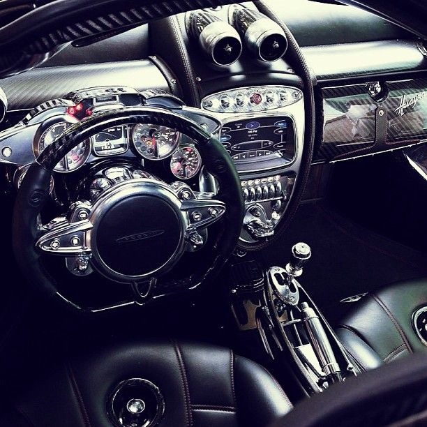 The Exhilarating Inside Of The Wonderful Pagani Huayra Supercars