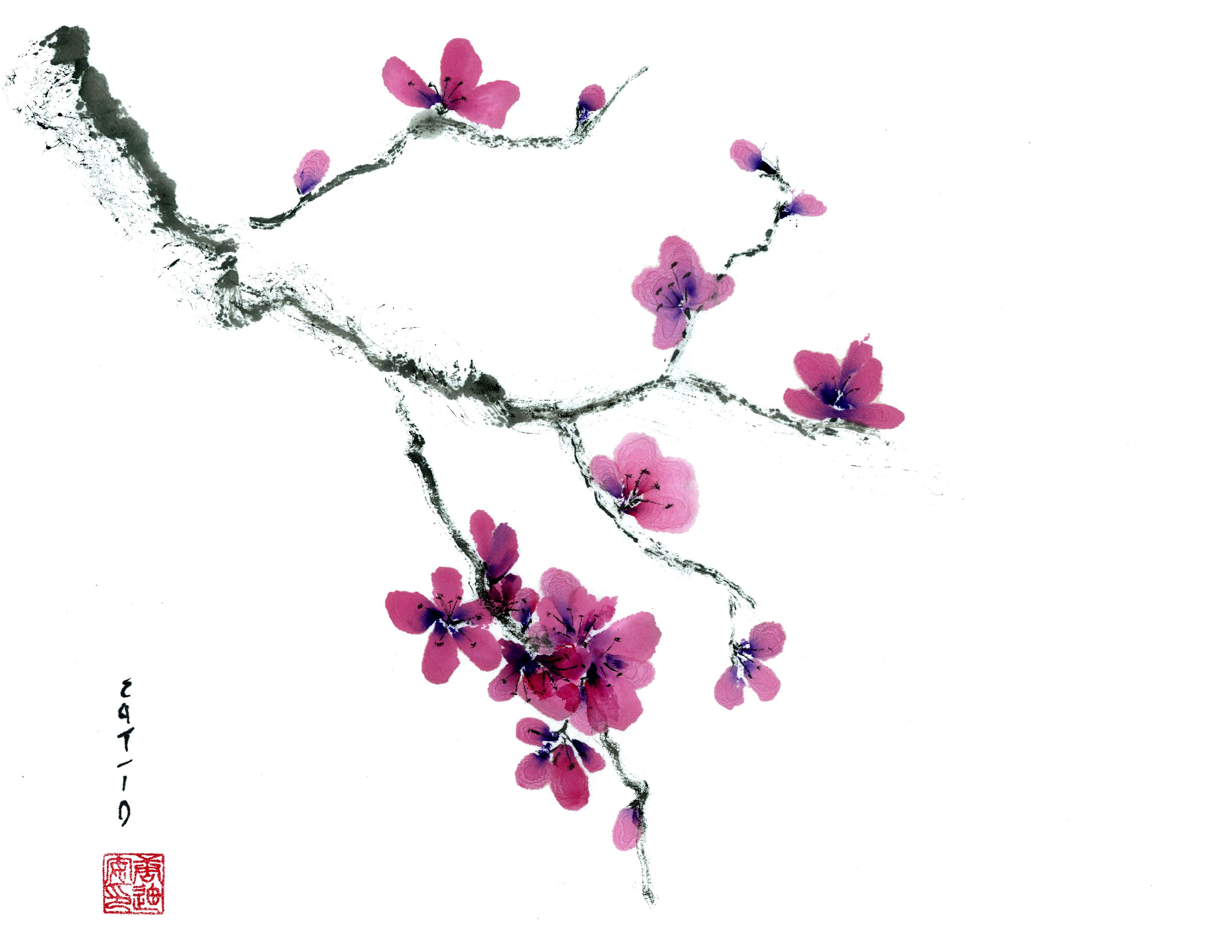 TonelliArts | Early Plum Blossom