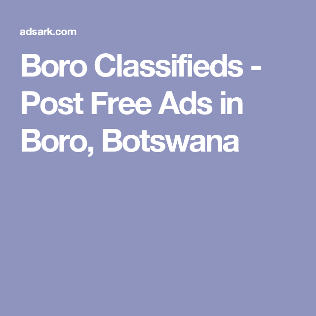 Post erotic classifieds