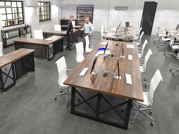 Carruca Work Station Office Furniture Modern Industrial Office Furniture Industrial Office Design