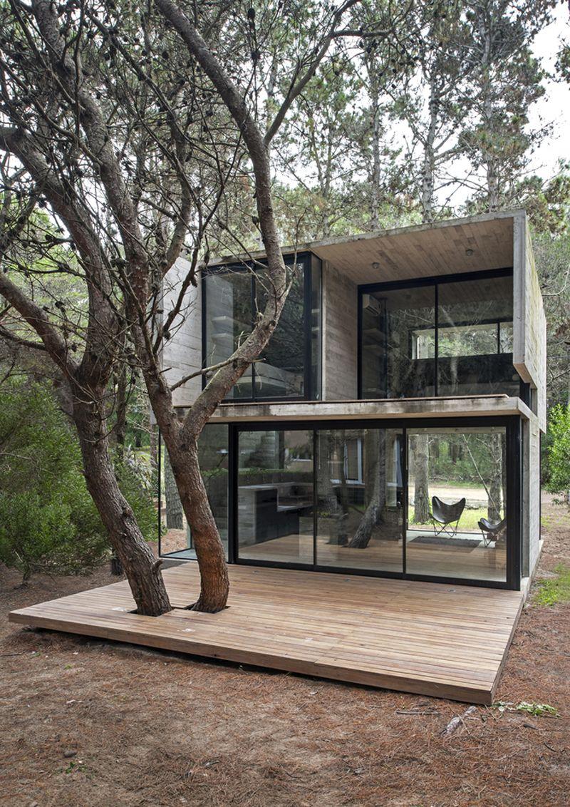 Mini case spazi minimi e luce naturale minicase nel for Architettura moderna case