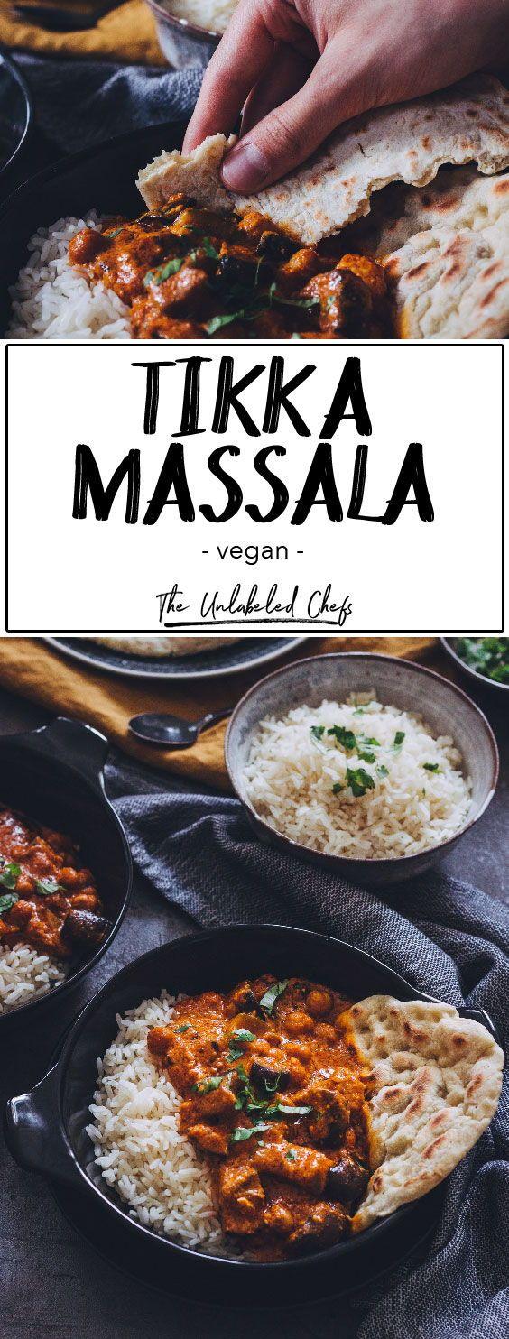 Veganes Tikka Masala - The Unlabeled Chefs #gezondeten
