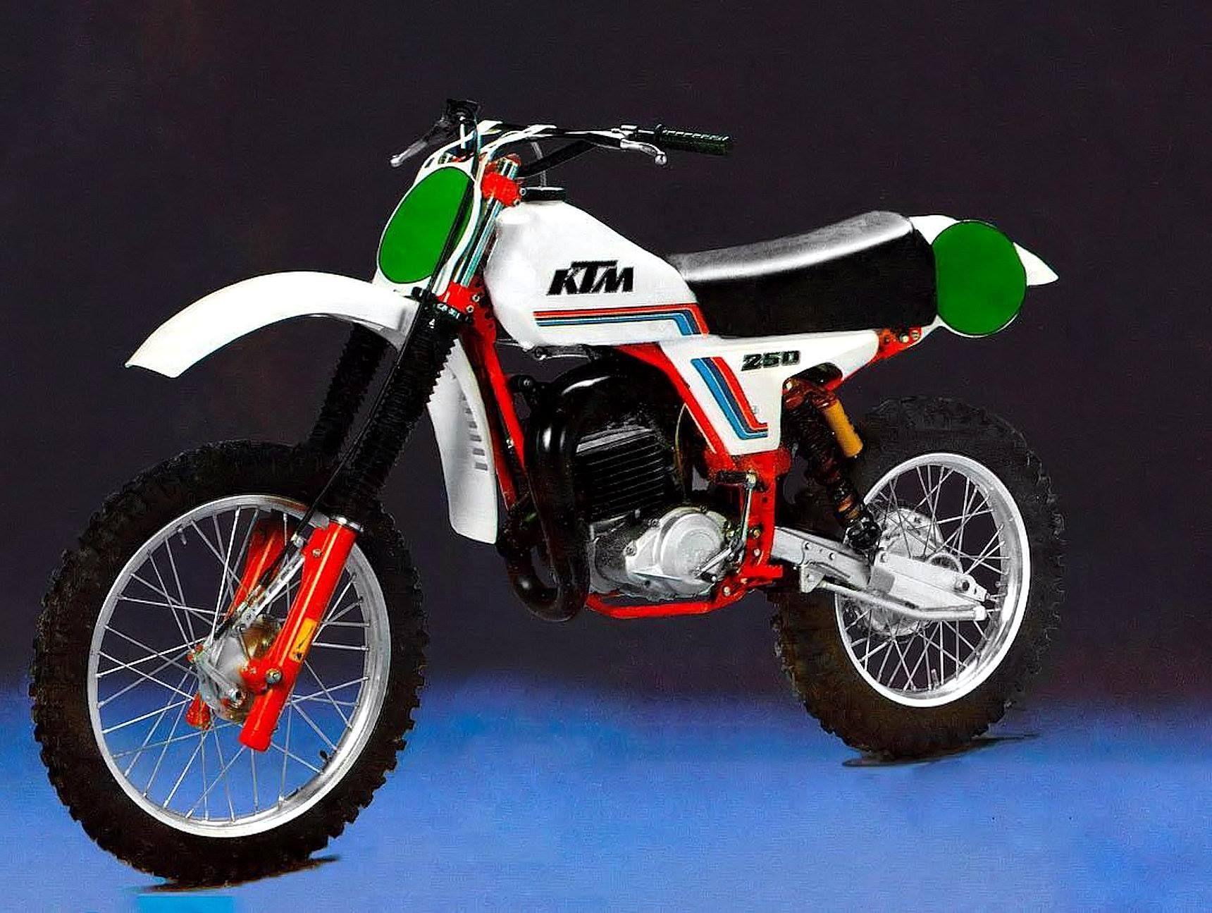 Ktm 250 Mc 1981 Vintage Motocross Motocross Bikes Ktm