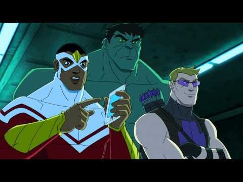 Avengers Assemble 1 hour preview First footage - YouTube - Very amusing looking