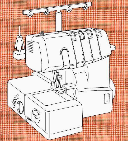 remalladora overlock domestica   Sewing tips   Pinterest   Costura ...