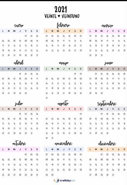 calendar2021esp.png | CALENDARIOS ANUALES