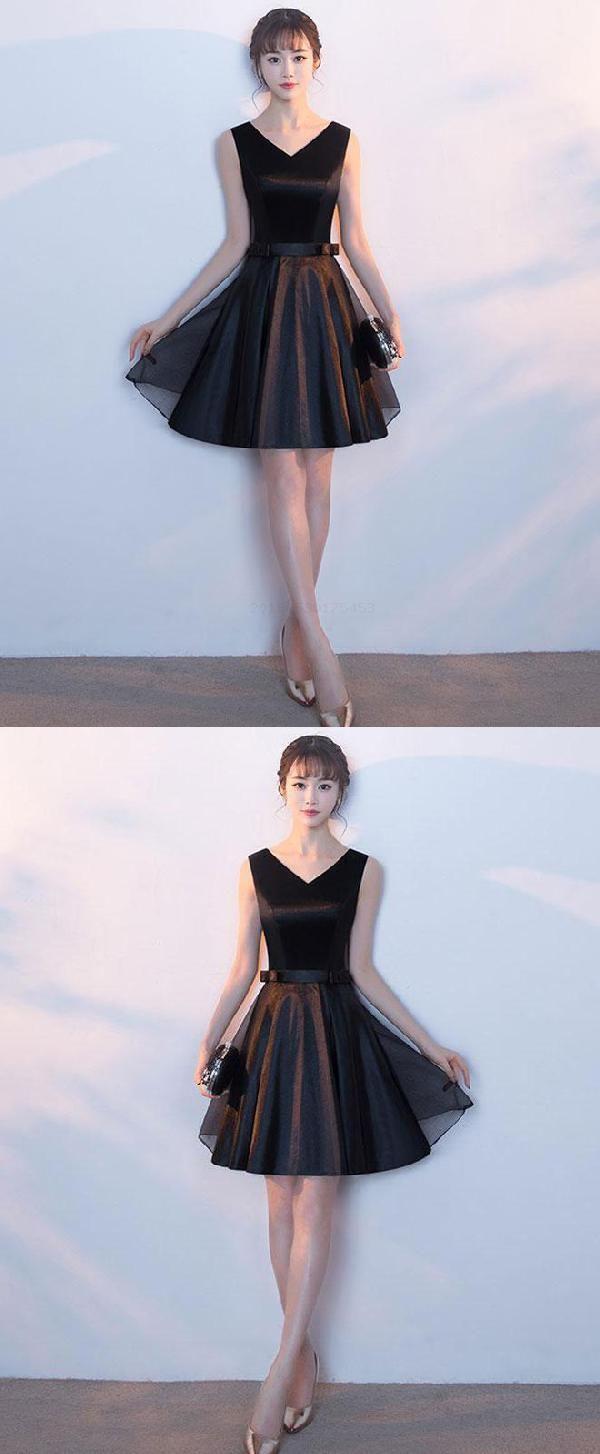 Short prom dresses prom dresses black cute prom dresses luu