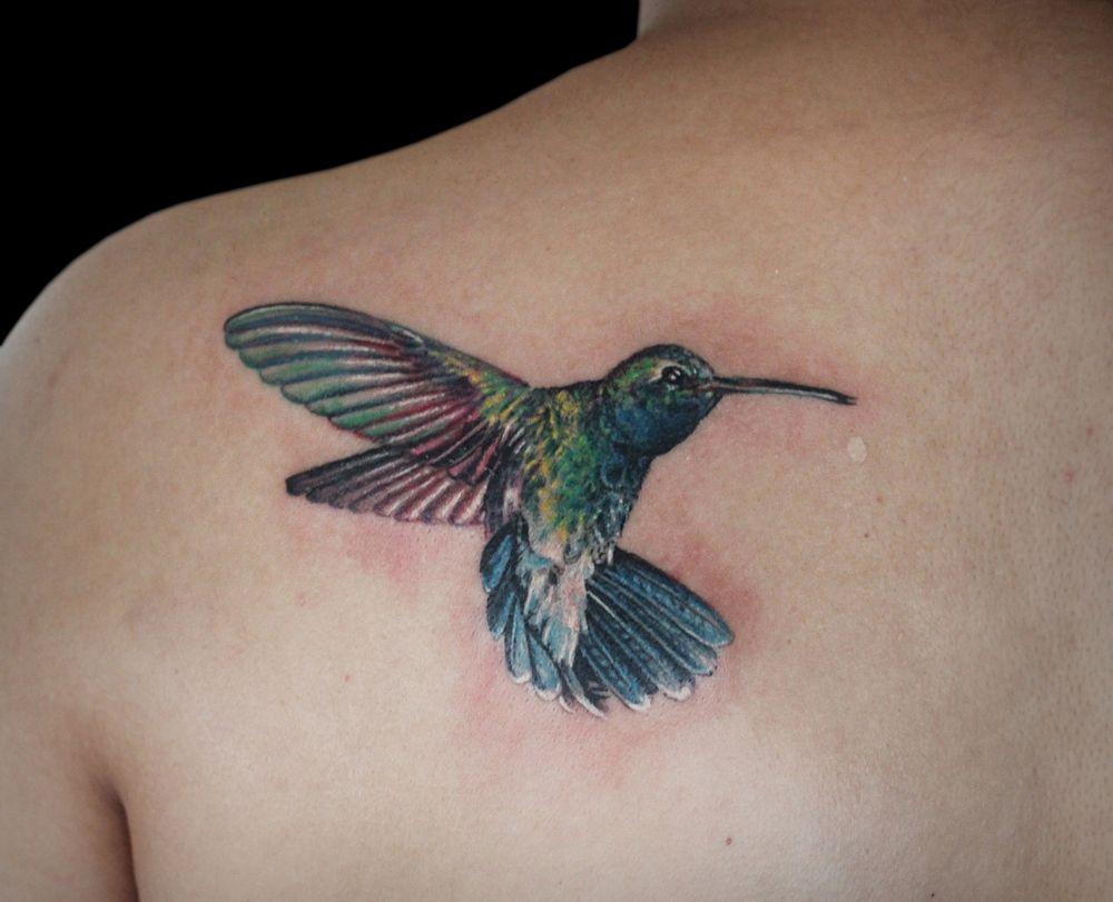 2 Hummingbirds For Callums First Tattoo Thanks Man Northofwinter Northofwintermcr Art Artist F Nature Tattoos Nature Tattoo Sleeve Black And Grey Tattoos