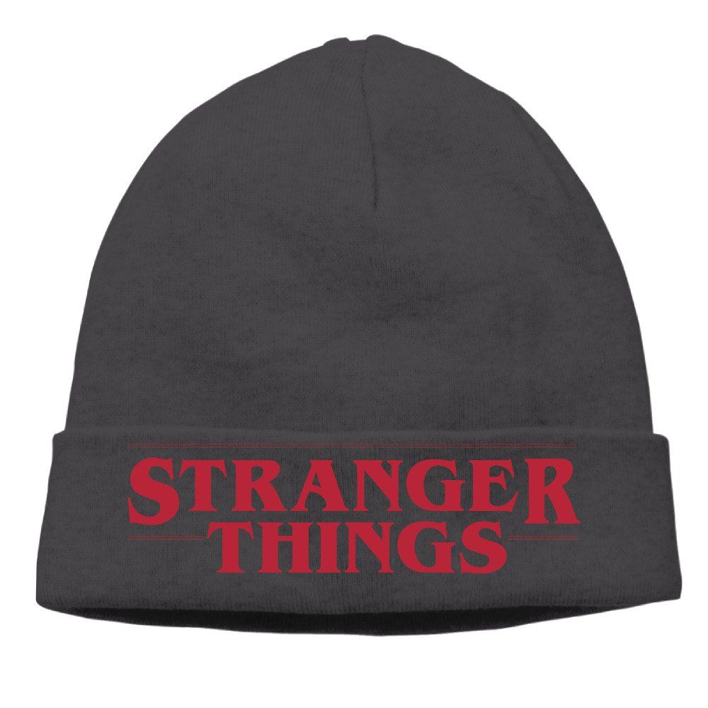 Stranger Things Logo Winter Warm Daily Knit Beanie Ski Cap Hat -- Awesome  products selected by Anna Churchill 01c1cb5a9b0