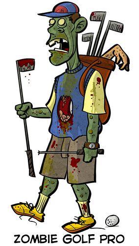 The bath salts/zombie apocalypse craze spreads to the golf course
