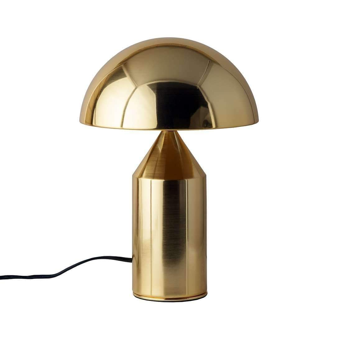 Mid Century Mushroom Table Lamp Brass In 2020 Brass Table Lamps Contemporary Table Lamps Table Lamp
