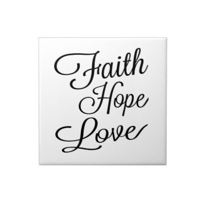 Zazzle Faith Hope Love Tile #zazzle #faith #hope #love #tile