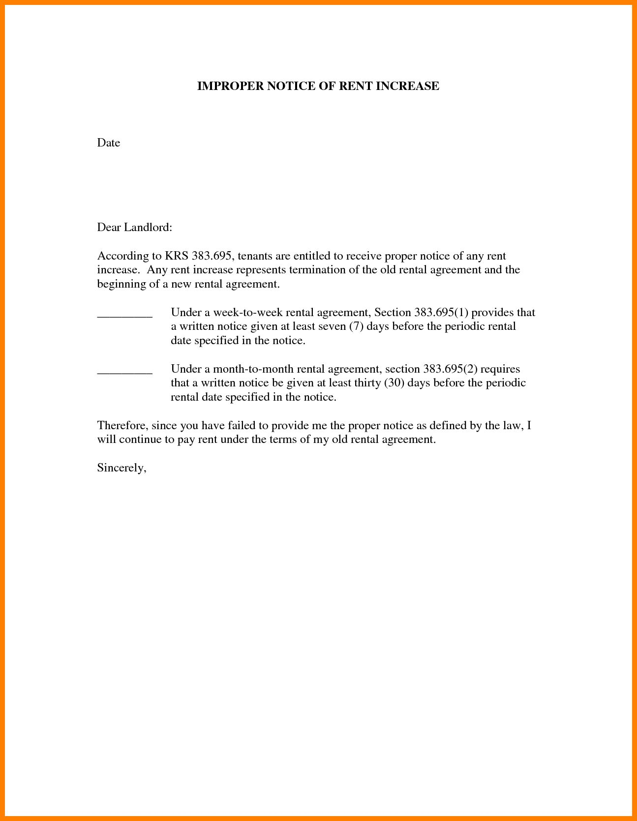 Images Of Days Sample Rent Increase Letter Template Unemeuf Intended For Rent Increase Letter Template 10 P Letter Templates Lettering Letter Templates Free