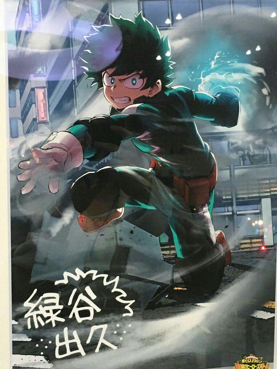 Midoriya Izuku My Hero Academia Boku No Hero Academia Hero Wallpaper Hero