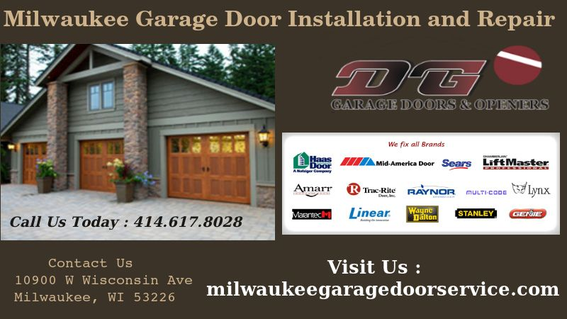 Http Milwaukeegaragedoorservice Com Our Professional Garage Door Service Experts Work With High Garage Door Installation Milwaukee Home Garage Service Door