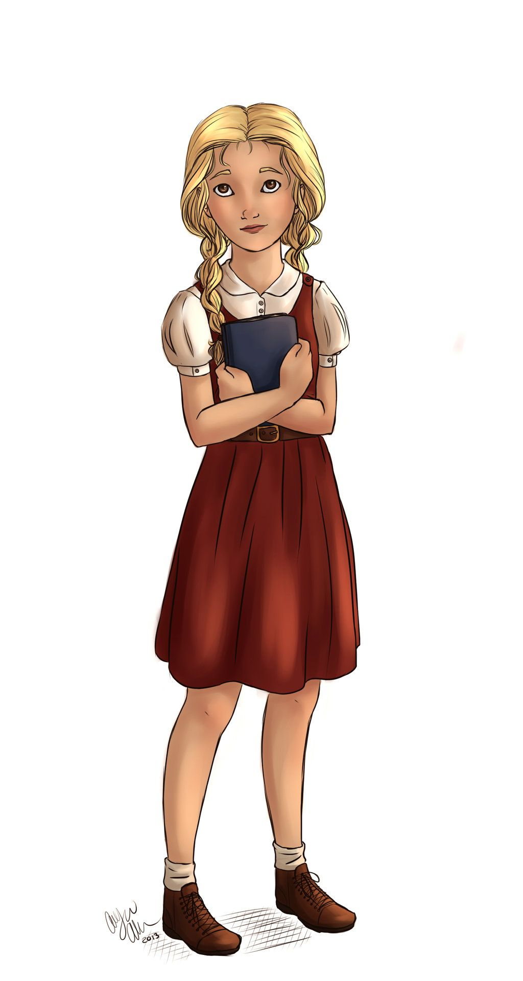 Liesel Meminger By Allicynleiaallen Deviantart Com On Deviantart