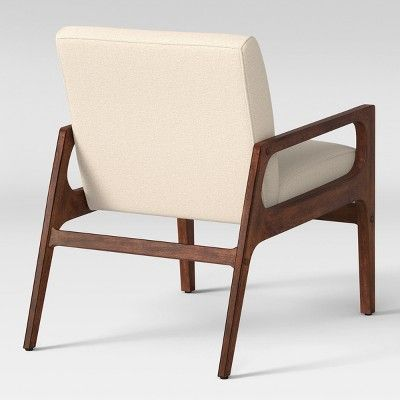 Peoria Wood Arm Chair Tan Project 62 In 2020 Wood Arm