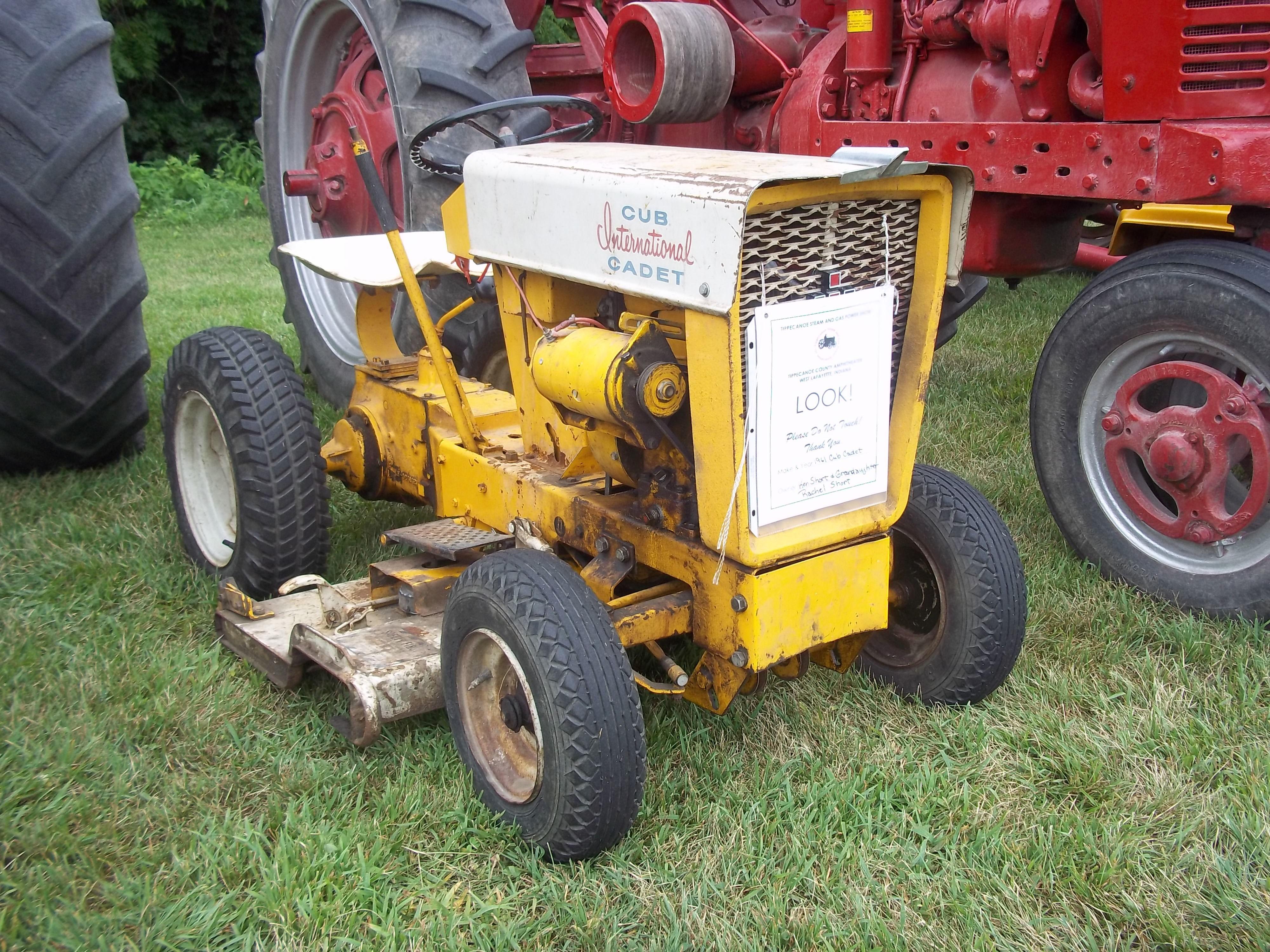 1960s Cub Cadet lawn garden tractor IH Farmall Pinterest