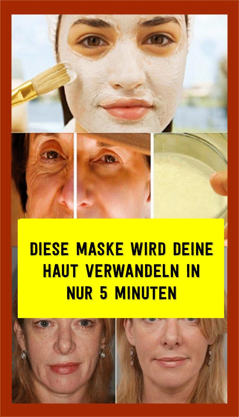 Diese Maske wird deine Haut verwandeln in nur 5 Minuten