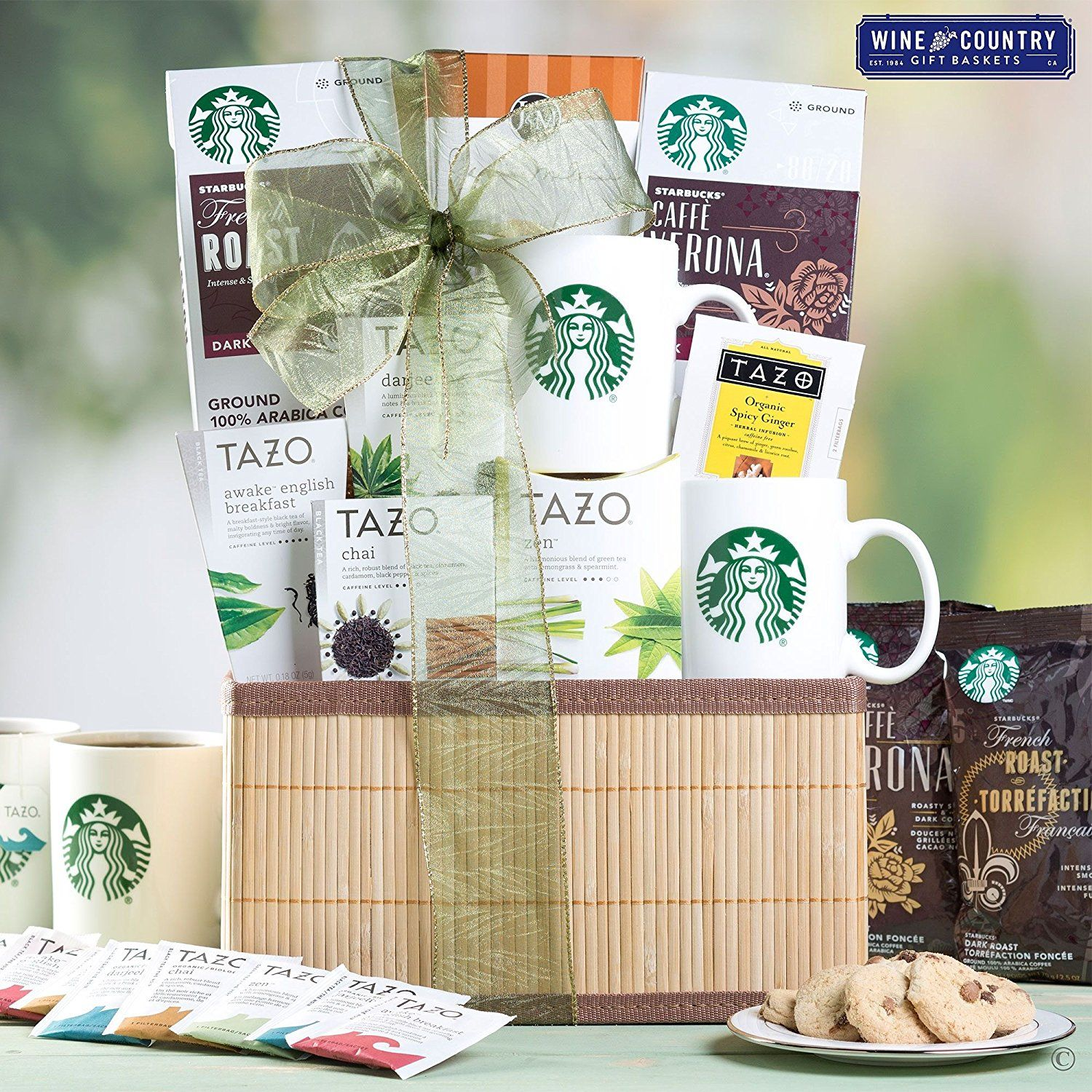 Starbucks Mother's Day Gourmet Coffee and Tea Gift Basket