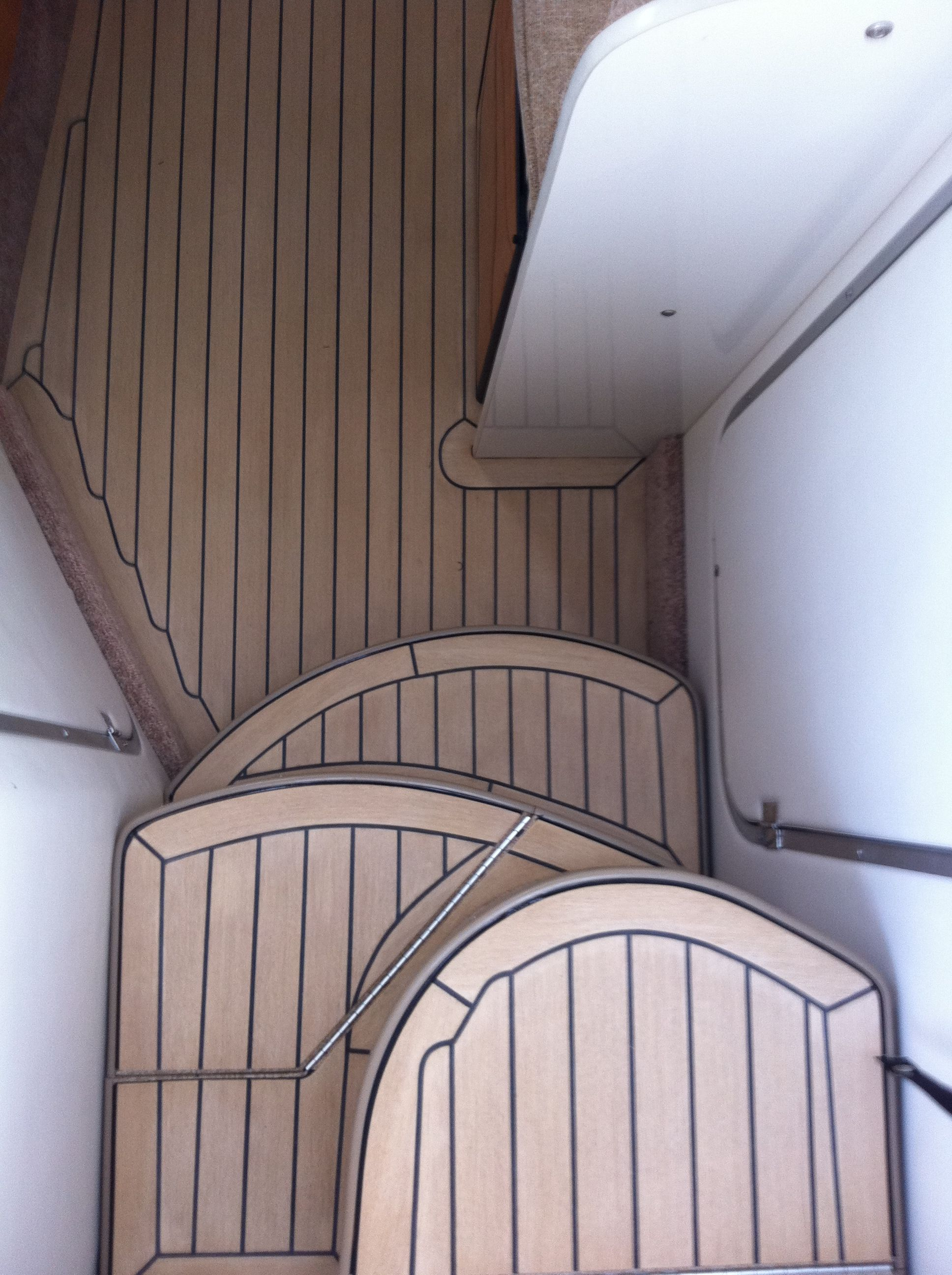 Composite boat floor replacement material , interior boat flooring supplier in usa