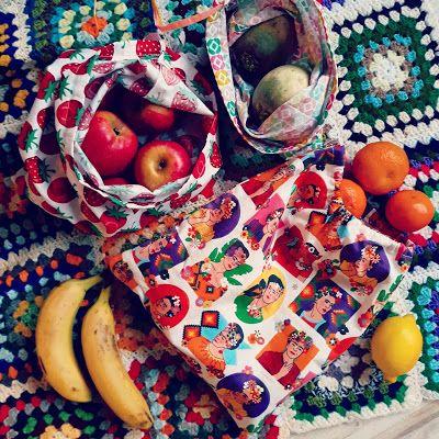 My Zero Waste Road Family: DIY ZERO DECHET #2 : Le sac à vrac #couturezerodechet