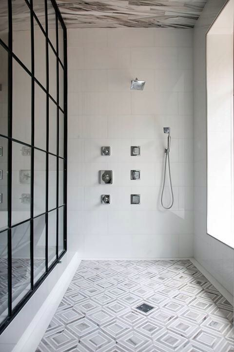 Nanda Soft Grey Shower Ceiling Tiles by Builders Floor Covering & Tile