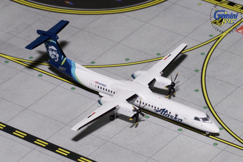 Gemini Jets 1:400 Alaska Airlines Airbus A319 N530VA GJASA1851 IN STOCK