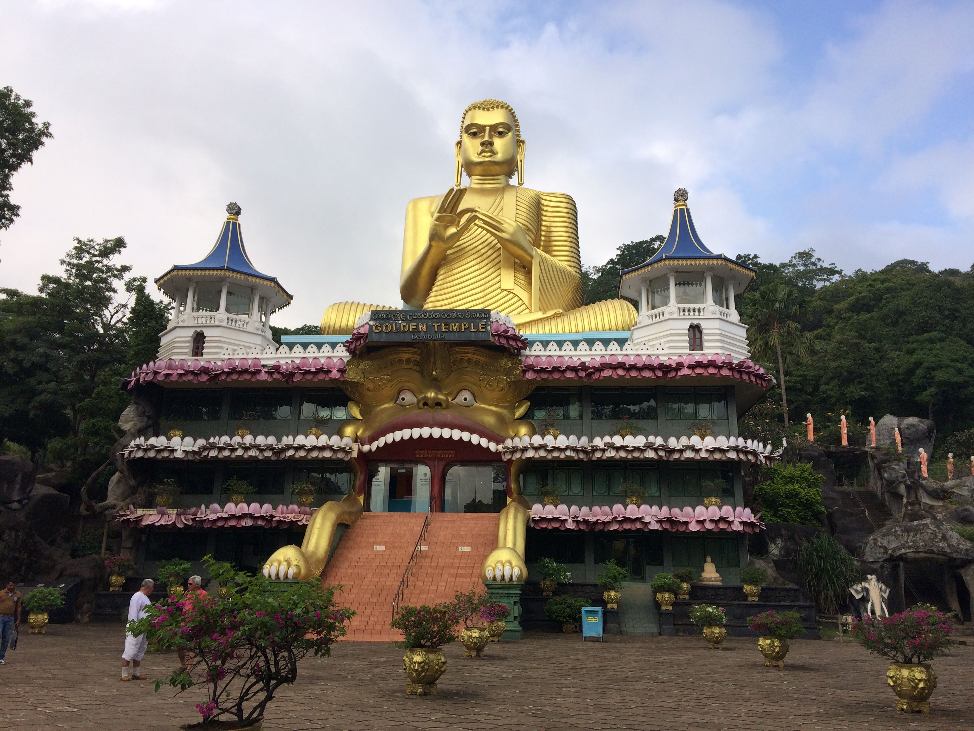 Dambulla Cave Temple Taj Mahal Dambulla Sri Lanka